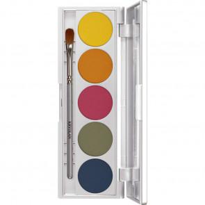 Kryolan Viva Matt Color Palette - 5 Shades