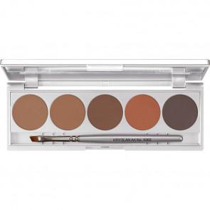 Kryolan Eyebrow Powder Palette - 5 Shades