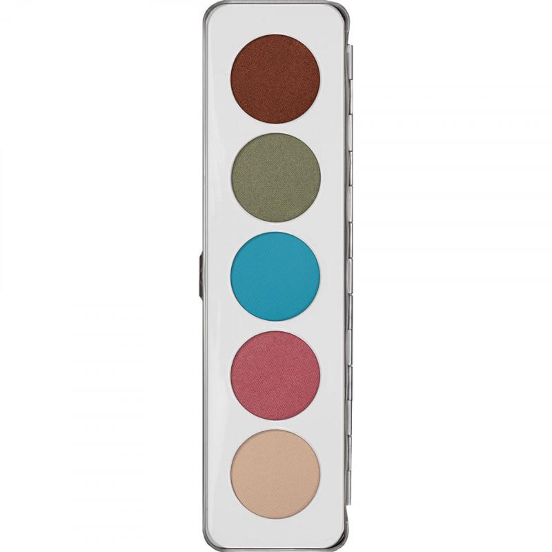 Kryolan Eye Shadow Palette - 5 Shades