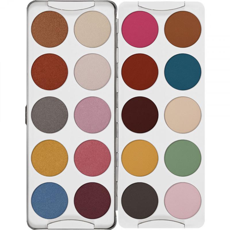 Kryolan Eye Shadow Palette - 20 Shades