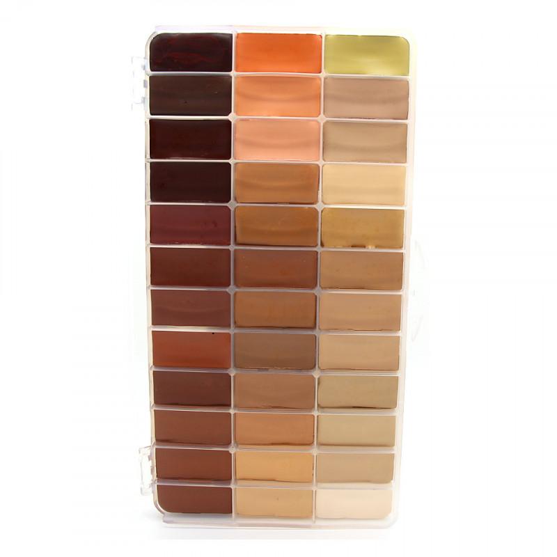 Maqpro Fard Creme Palette 36 Shades DAH1