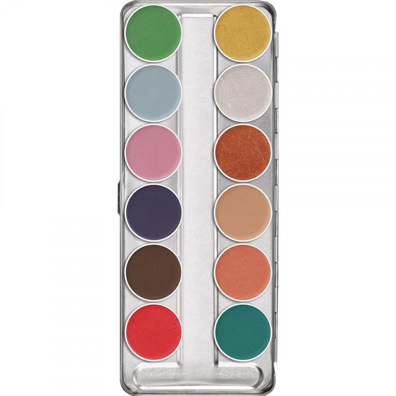 Aquacolor Interferenz Palette – 12 Shades