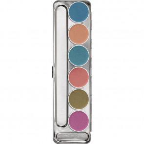 Aquacolor Interferenz Palette – 6 Shades