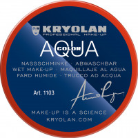 Aquacolor Wet Make-Up for Face and Body Painting.